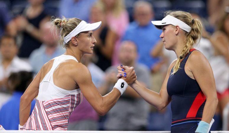 Видеообзор. US Open. 2-й раунд. Цуренко — Возняцки