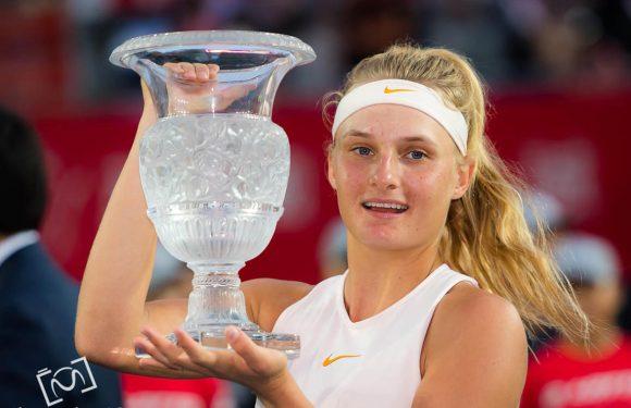 Фоторепортаж: Первый титул WTA Даяны Ястремской