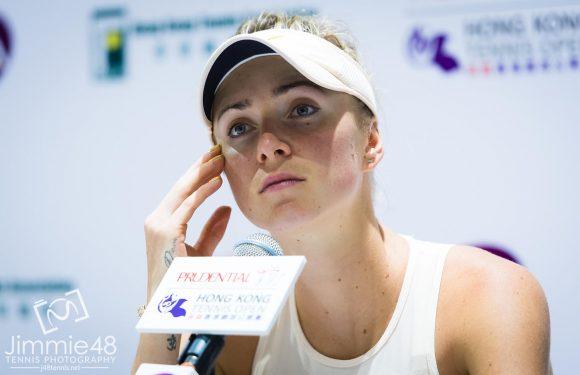 Элина Свитолина: Была сегодня очень злой