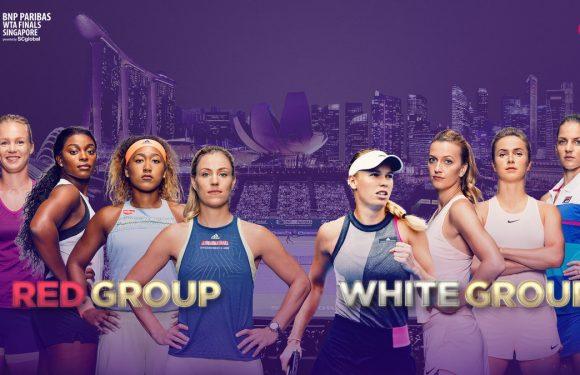 Состоялась жеребьевка Итогового турнира WTA в Сингапуре