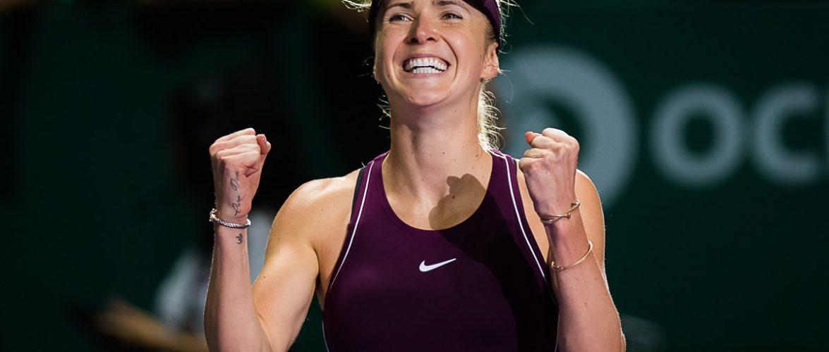 Элина Свитолина — игрок октября по версии официального сайта WTA