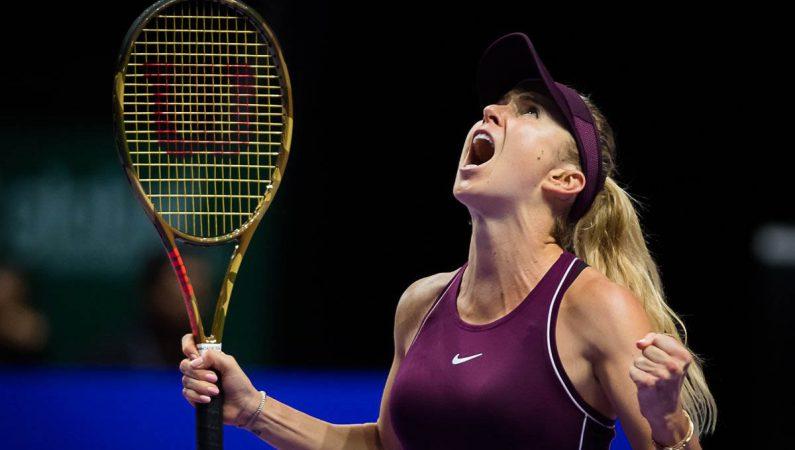 Элина Свитолина выходит в финал Итогового турнира в Сингапуре