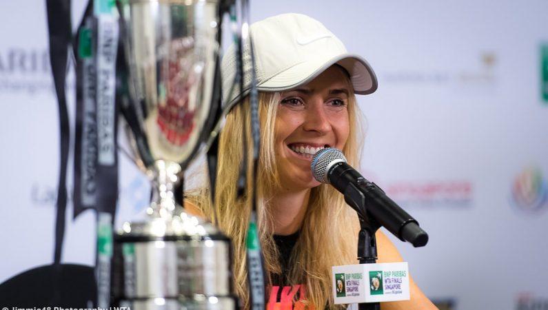 Свитолина стала Заслуженным мастером спорта Украины и сыграет за сборную в 2019