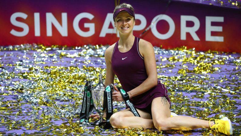 Элина Свитолина выигрывает Итоговый чемпионат WTA в Сингапуре