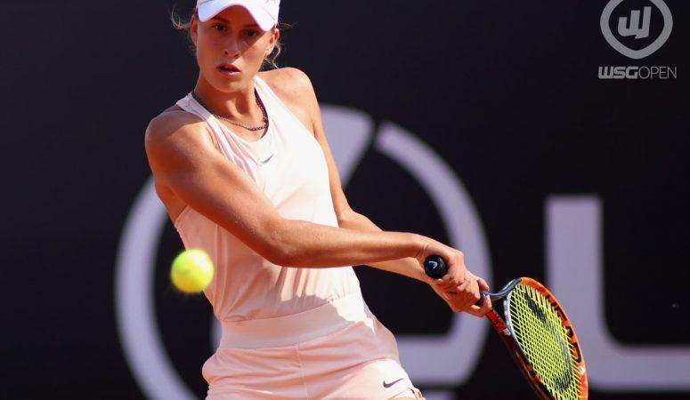 Марина Чернышова — в четвертьфинале турнира ITF в Анталье