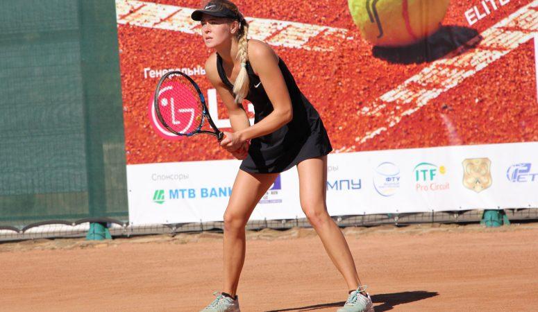 Шошина уверенно выходит в полуфинал турнира ITF в Анталье
