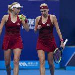 US Open. Сестры Киченок узнали соперниц в парном турнире