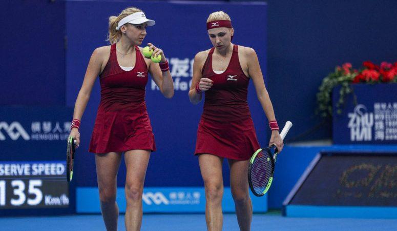 AUS Open. Сестры Киченок сыграют друг против друга в миксте