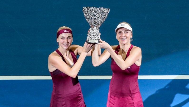 Сестры Киченок выигрывают титул на WTA Elite Trophy в Чжухае