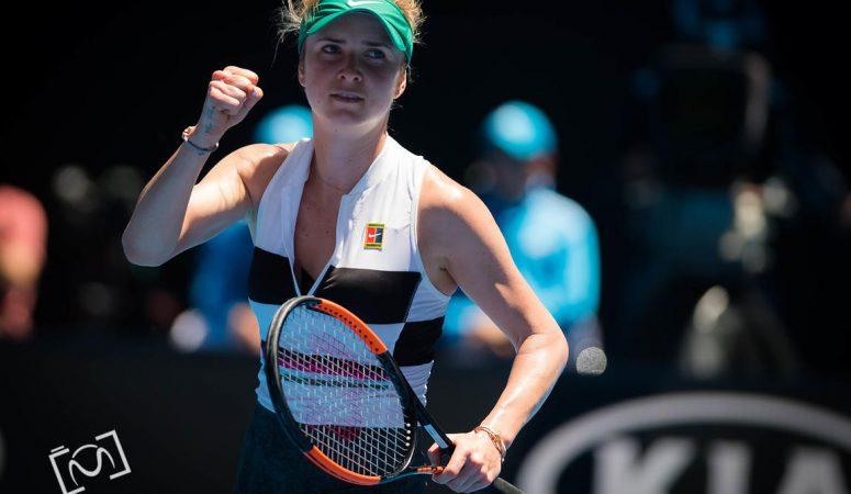 Фото: Эмоциональная победа Свитолиной над Чжан в 3 круге AUS Open
