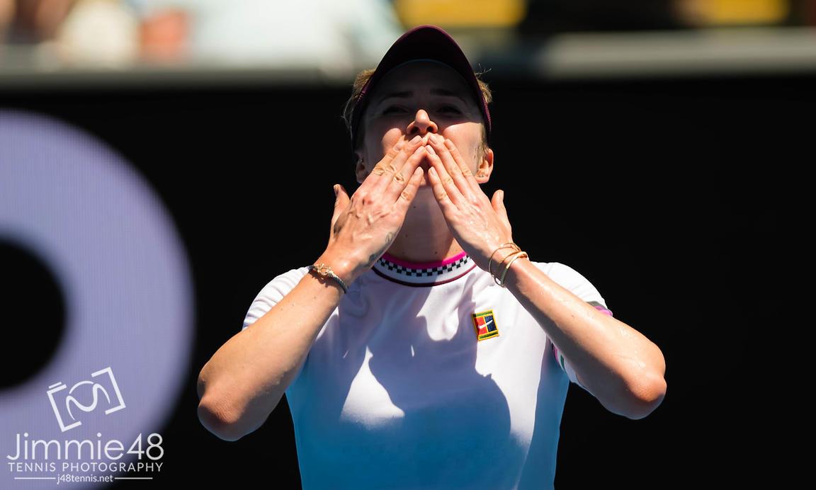 Фото: Феерическая победа Свитолиной над Киз в 4 круге AUS Open