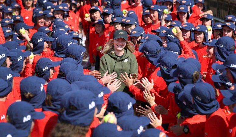 Свитолина провела встречу с 360 болбоями на AUS open