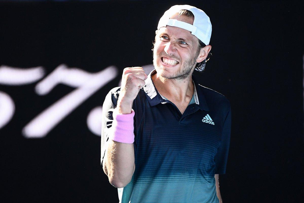 AUS Open. Люка Пуй впервые в карьере выходит в полуфинал Шлема