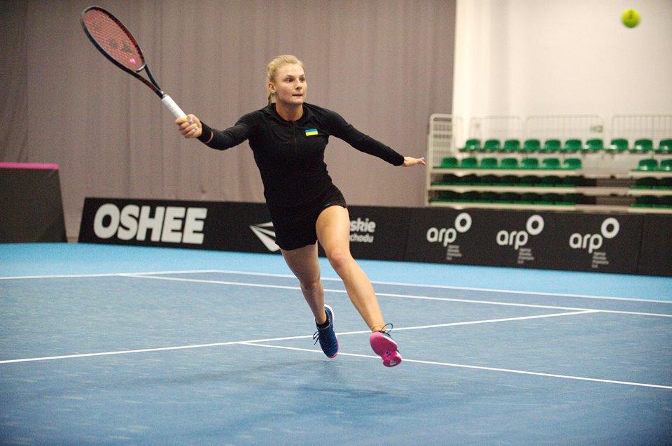 Ястремская провела первую тренировку в Зеленой Гуре