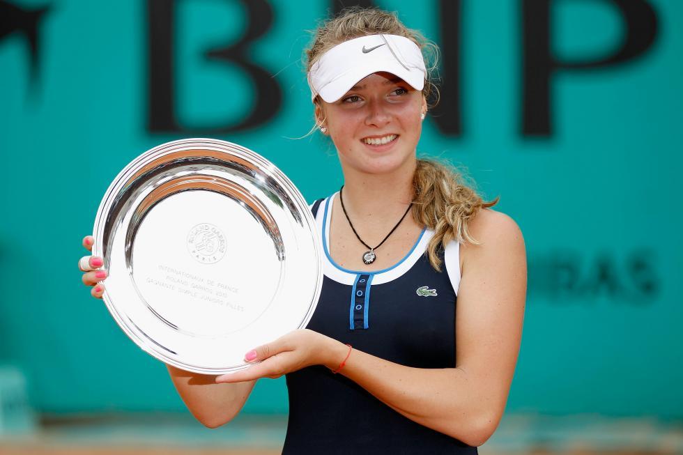 2010 Roland Garros girls' champion Elina Svitolina (Getty)