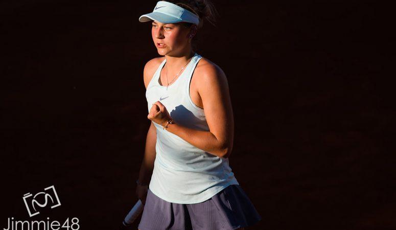 Марта Костюк выходит в четвертьфинал турнира в Сен-Мало