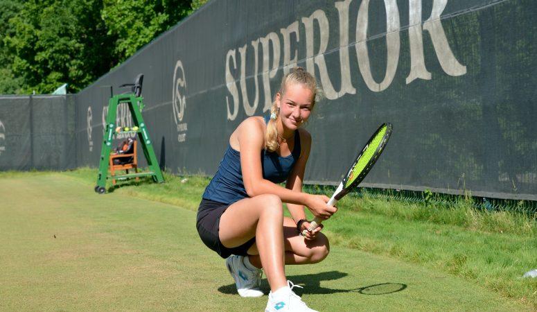 Любовь Костенко выигрывает парный титул в Ноттингеме