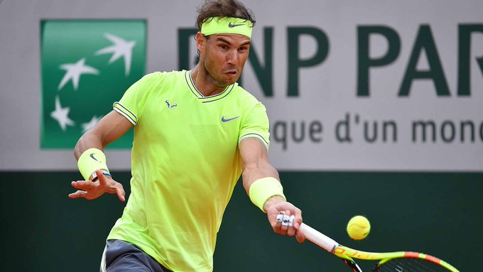 Победа Надаля над Федерером в видеообзоре полуфинала Ролан Гаррос