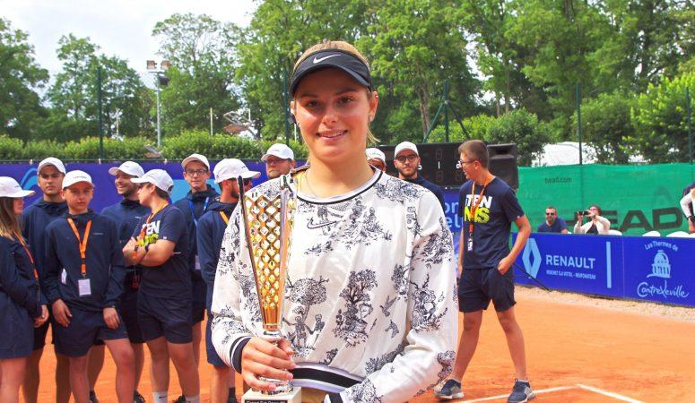 Контрексевиль. Завацкая выигрывает свой первый 100-тысячник и 2-й титул подряд