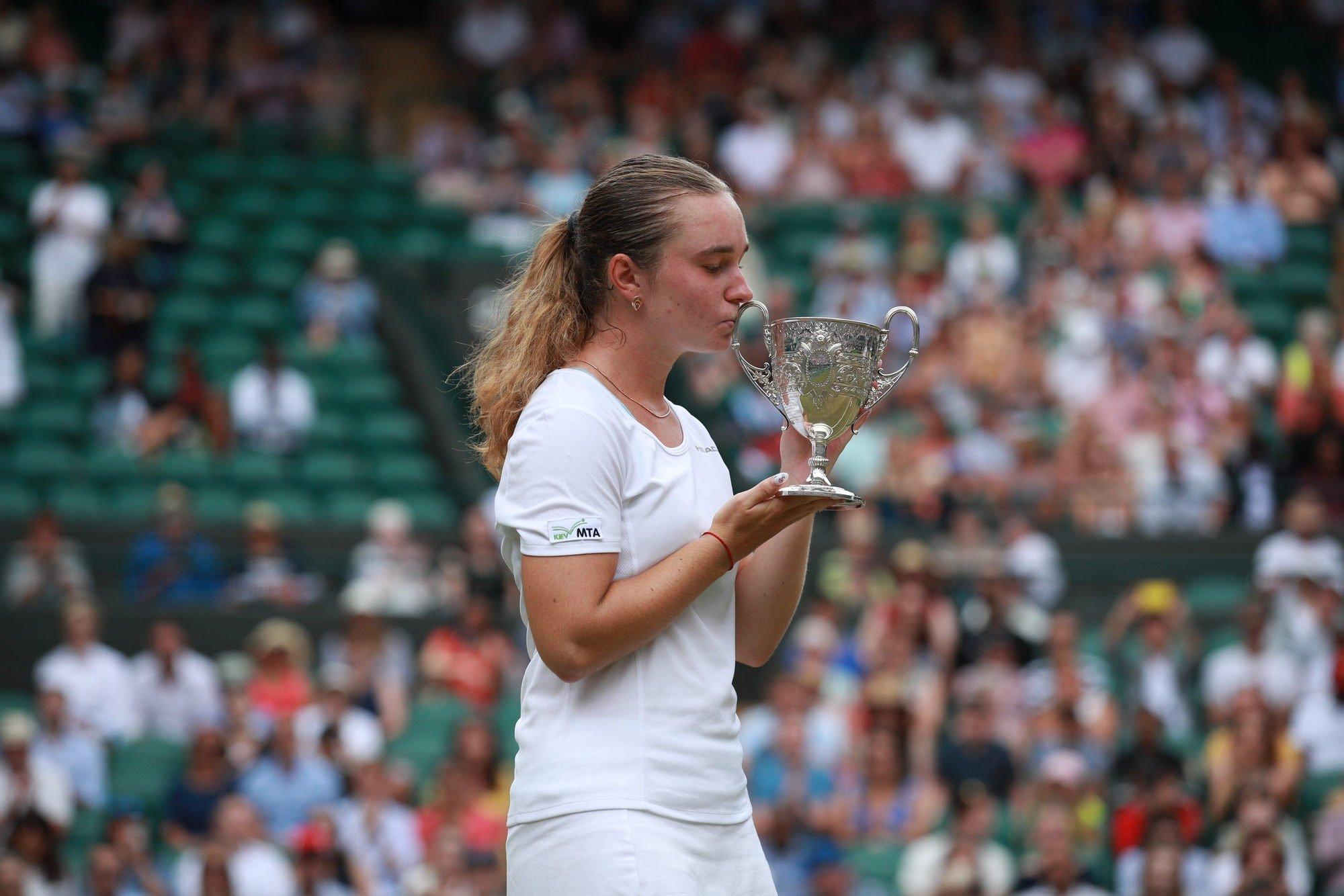 Дарья Снигур — вторая украинка, выигравшая юниорский Уимблдон