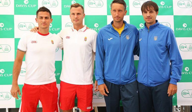 Кубок Дэвиса. Венгрия — Украина 2-1