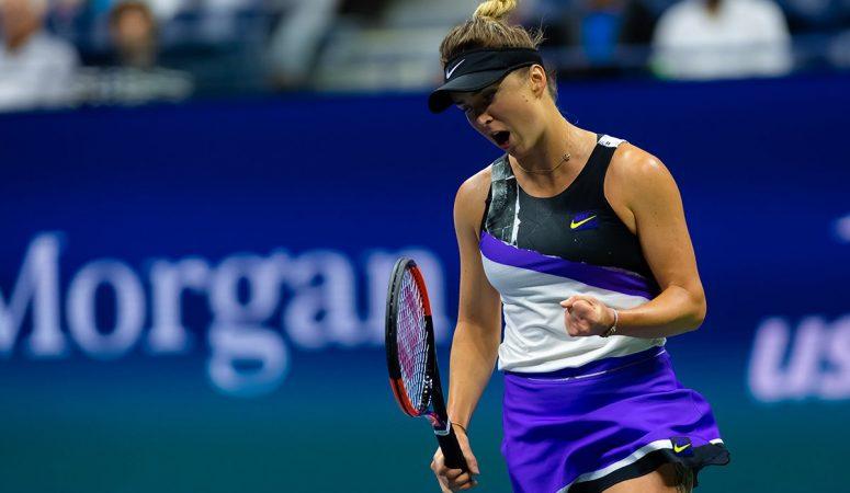 Элина Свитолина с третьей попытки выходит в четвертьфинал US Open