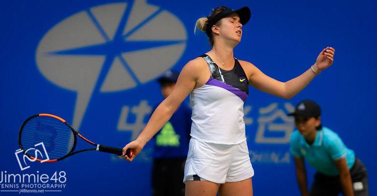 Свитолина вслед за Халеп и Бертенс снялась с US Open