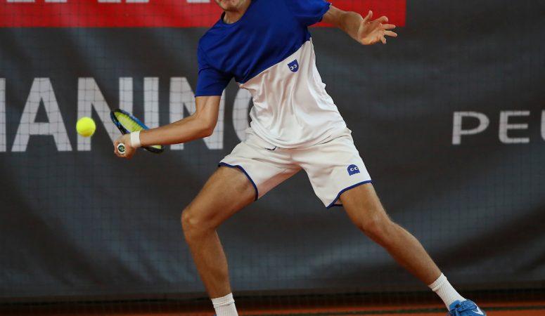 Виталий Сачко не смог доиграть финал фьючерса в Ираклионе