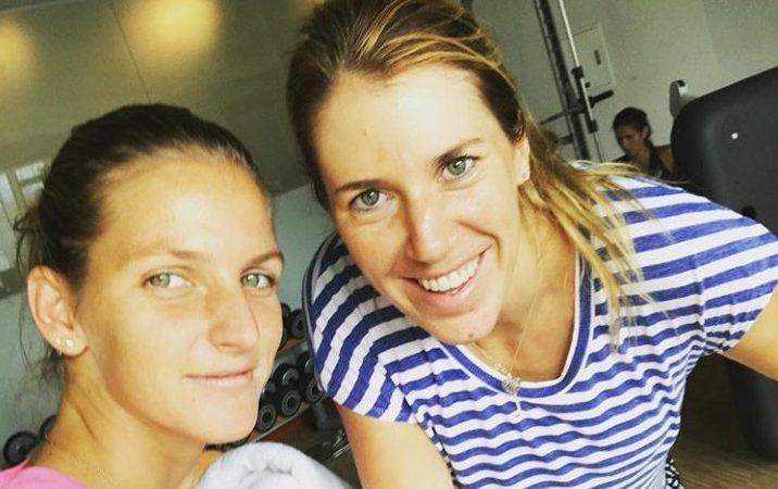 Ольга Савчук войдет в новую команду Каролины Плишковой