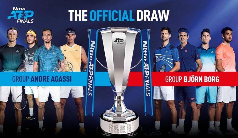 Состоялась жеребьевка Итогового турнира ATP