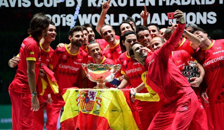 Сборная Испании выиграла новый Кубок Дэвиса, имея преимущество домашних стен