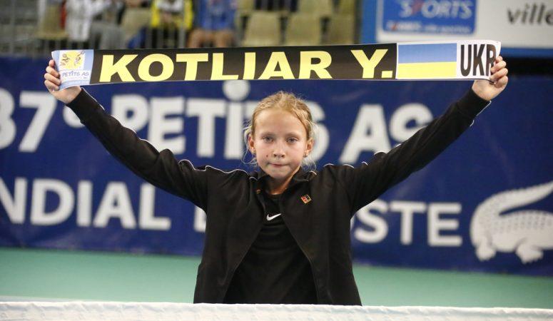 Юная украинка вышла в финал Orange Bowl в категории 12 лет и младше