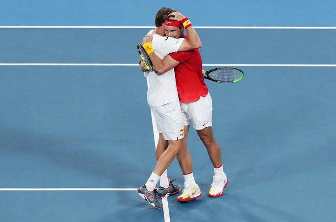 ATP Cup. Надаль реабилиторвался в паре и вывел Испанию в полуфинал