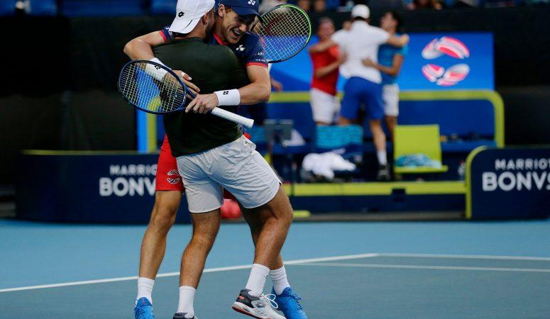 ATP Cup. Норвегия обыгрывает США, Канада — Грецию