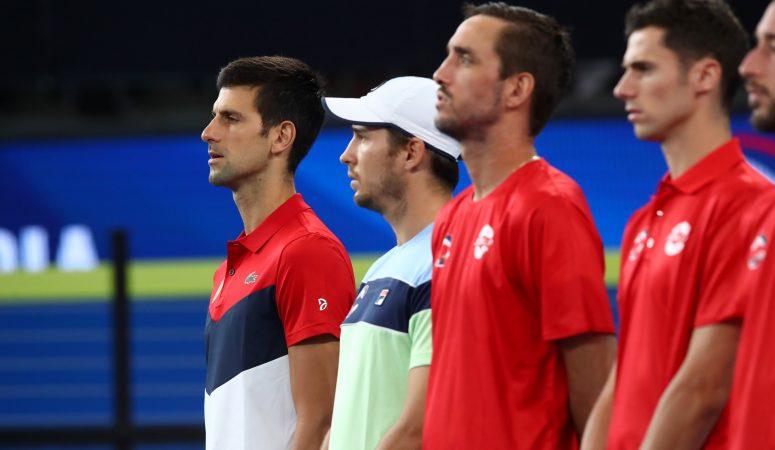 ATP Cup. Австралия и Сербия — в четвертьфинале, остальные четвертьфиналисты определятся 7 и 8 января