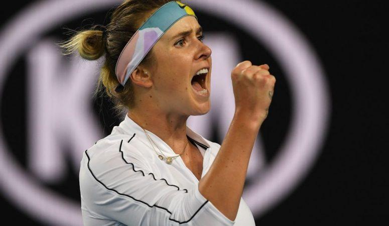 AUS Open. Элина Свитолина в 5 раз сломила сопротивление Дэвис и вышла на Мугурусу
