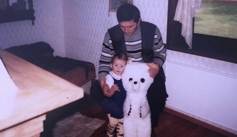 У Елены Остапенко умер отец