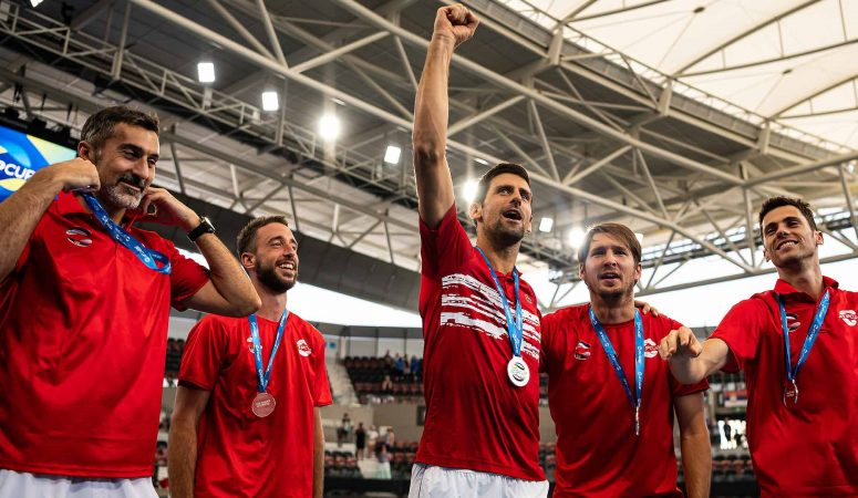 ATP Cup. Сербия выигрывает титул, обыграв Испанию 2-1