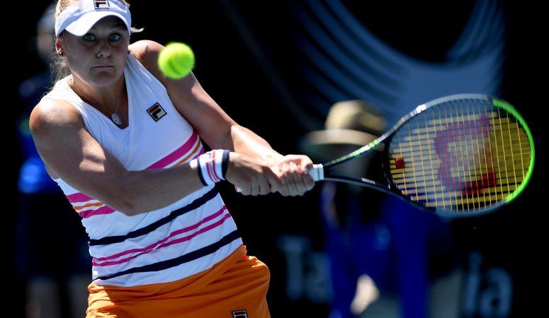 Катерина Козлова уверенно выходит во 2 круг турнира в Хобарте