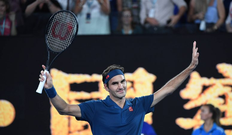 AUS Open. Федерер вступает в борьбу с разгромной победы