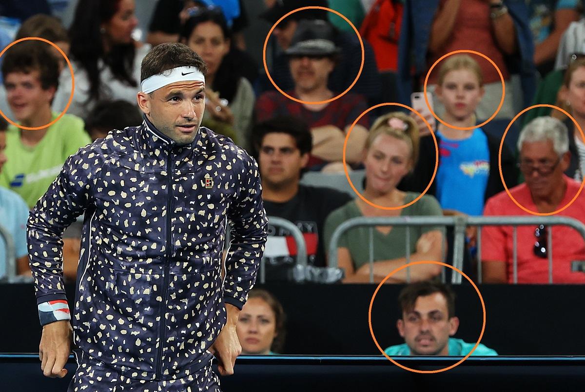 AUS Open. Болельщики посмеялись над спортивным костюмом Димитрова