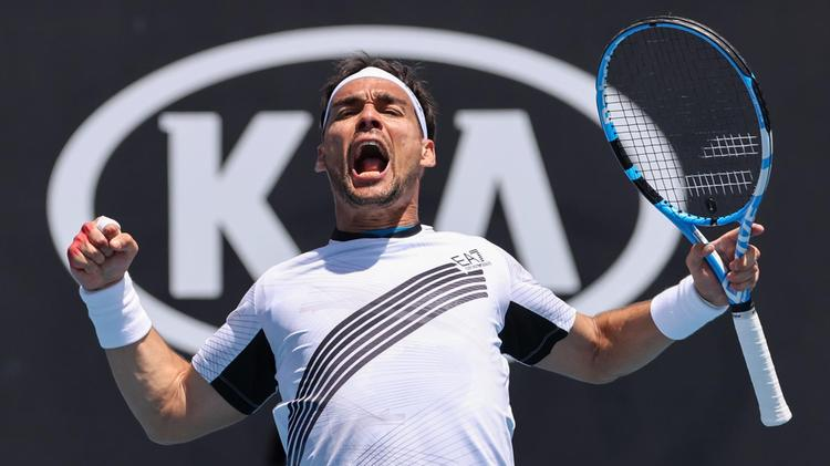 AUS Open. Фоньини сломил сопротивление Опелки в доигранном матче