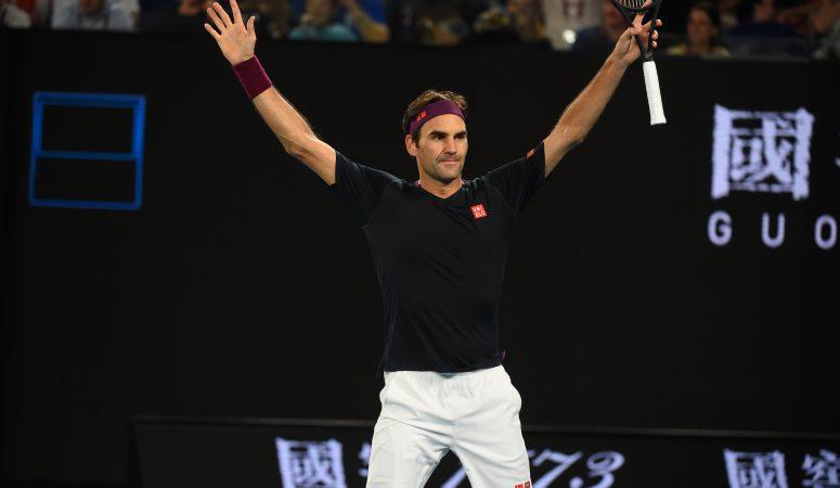 AUS Open. Роджер Федерер проявляет волю, чтобы выиграть главный триллер дня