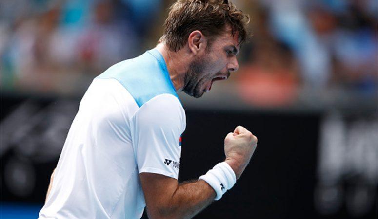 Видеообзор. Победа Вавринки над Медведевым в 4 круге AUS Open