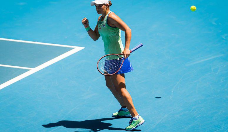 Видео. Эшли Барти впервые выходит в полуфинал AUS Open