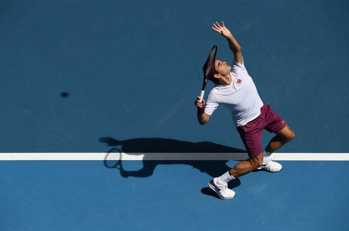 Видео. Роджер Федерер получает предупреждение за ругательство матом