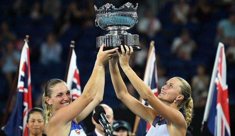 AUS Open. Бабош и Младенович выигрывают свой 3 парный титул на Шлемах
