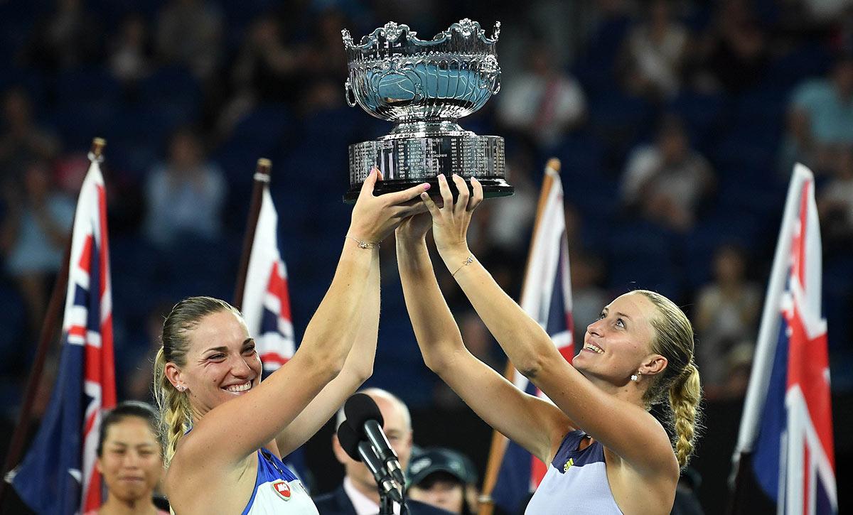 Тими Бабош и Кристина Младенович - победительницы AUS Open