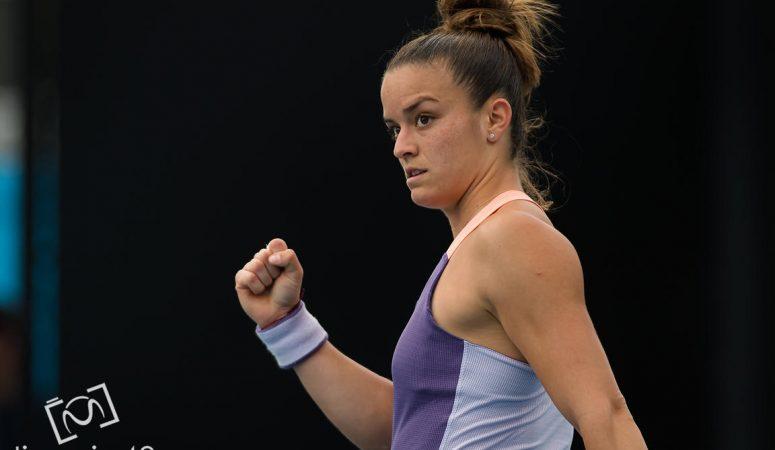 AUS Open. Мария Саккари выбивает 10-ю сеяную
