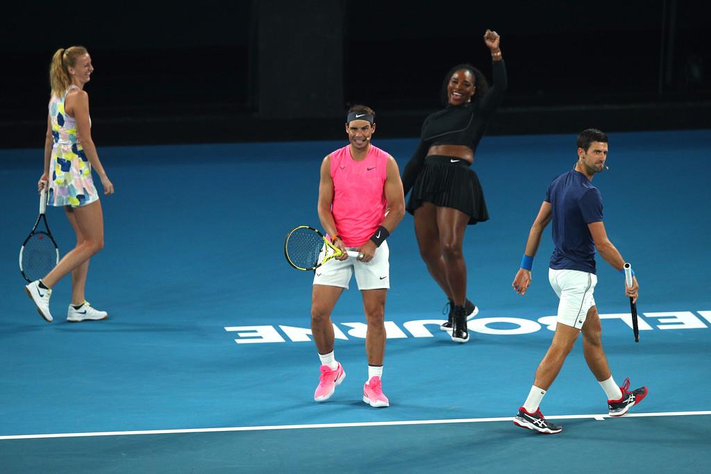 Superior Fit и IBK Tennis Consulting представляют: Глаз Алмаз. AUS Open. Слабонервных просят удалиться…